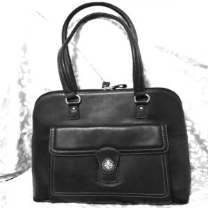 NWT Leather Franklin Covey Laptop / Business Bag